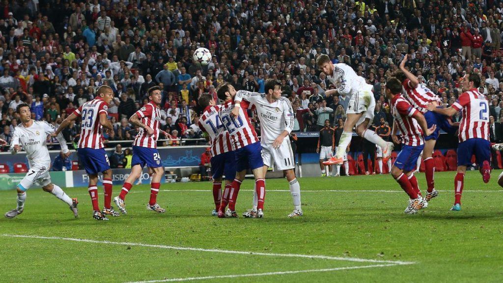 ¿Por qué nadie puede detener a Sergio Ramos en el juego aéreo? Un asistente que estuvo durante los 'Galácticos' lo explica