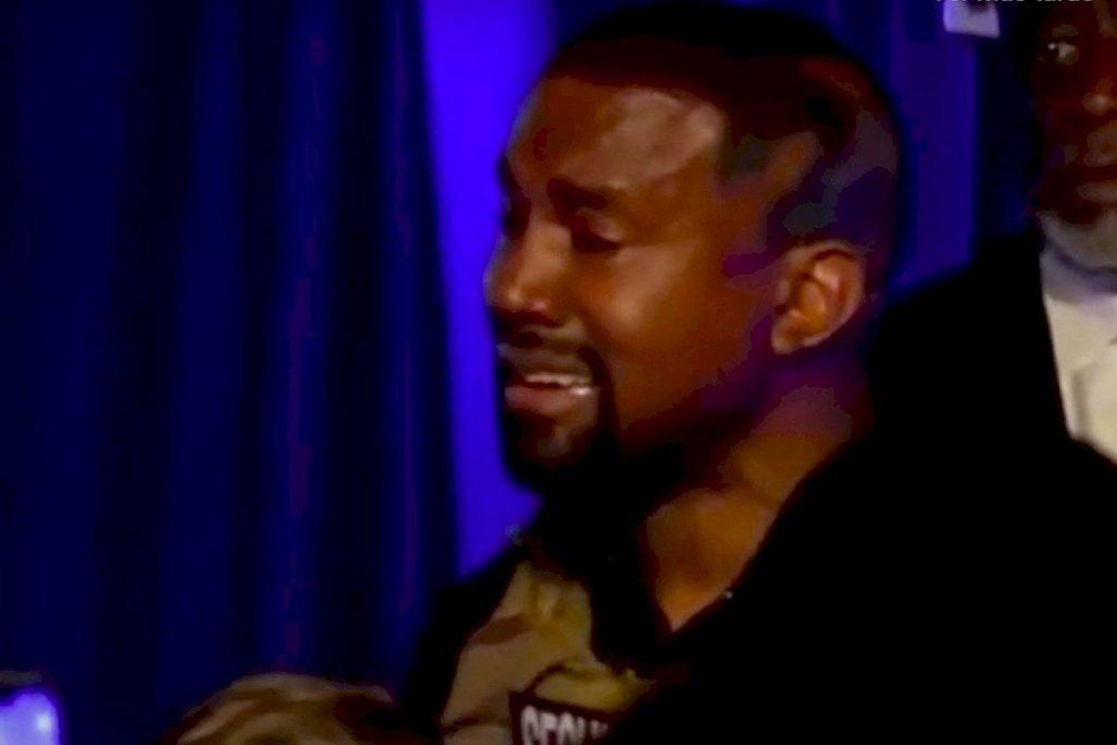 Casi mato a mi hija: Kanye West llora en su primer mitin por la presidencia de Estados Unidos
