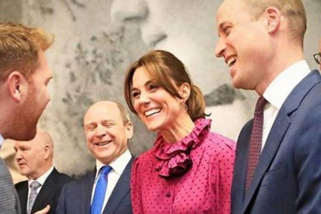 Kate Middleton usa un hermoso vestido floral que copió de la princesa Diana