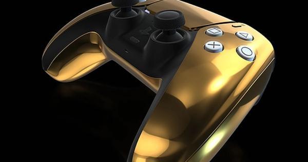 La tienda prepara una edición muy limitada de PS5 chapado en oro de 24K