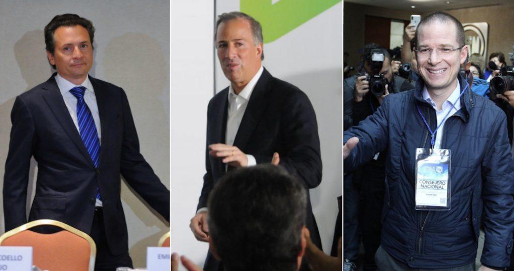 Lozoya ya dio una lista de corruptos: Código Magenta. Incluye Anaya, Meade, Cordero, González Anaya ...