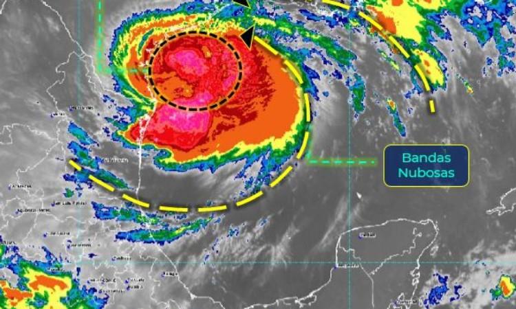 Clima en México hoy: Hanna se intensifica a huracán de categoría 1