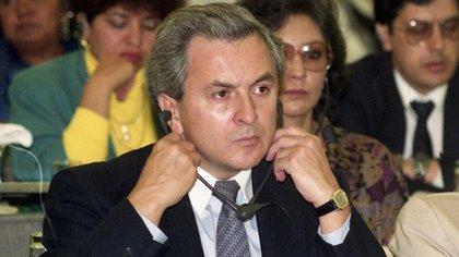 Lozoya Austin pudo reunirse con sus abogados y su padre, Emilio Lozoya Thalmann, a su llegada a México el 17 de julio (Foto: Cuartoscuro)