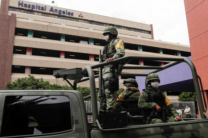 La aparición de Lozoya se hizo desde el hospital donde ha estado desde su extradición a México (Foto: Henry Romero / Reuters)