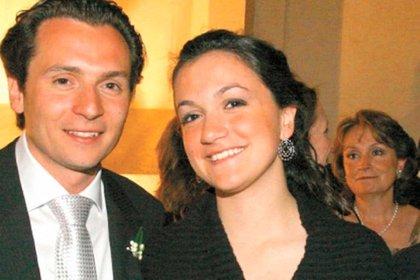 Emilio Lozoya y su hermana, Gilda Susana, que se mantuvo como beneficiaria de la cuenta bancaria suiza con la que supuestamente se trianguló el dinero (Foto: especial)