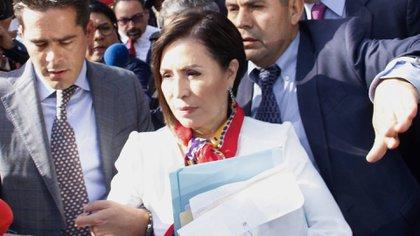 La defensa de Robles acusó al juez de control de ser parcial debido a su relación con un diputado de Morena, el partido de López Obrador.  (Foto: Cuartoscuro)