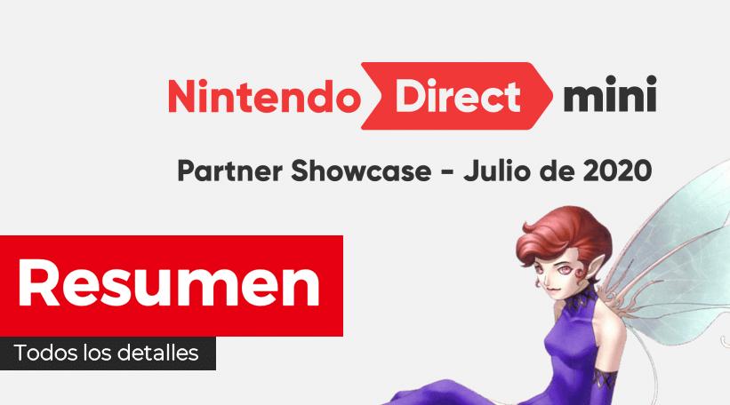 Resumen oficial de todos los anuncios del Nintendo Direct Mini: Partner Showcase