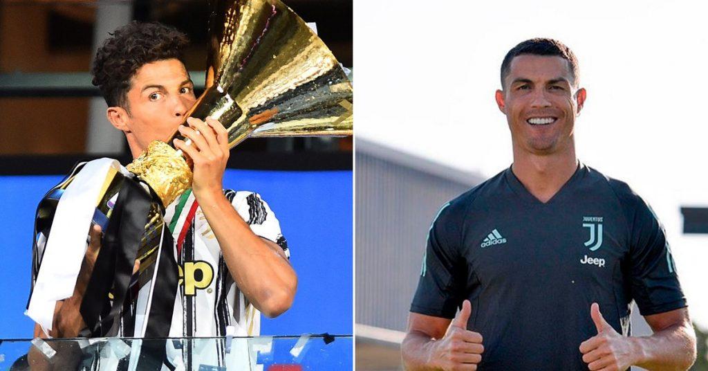 El cambio de look de Cristiano Ronaldo para revertir la serie de Champions ante el Lyon con la Juventus