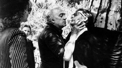 Fellini nunca filmó la película con Mastroianni en la que participaría Mónica Miguel (Shutterstock)