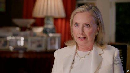 Hillary Clinton habla en la Convención Nacional Demócrata.  Foto: Convención Nacional Demócrata 2020 / vía REUTERS
