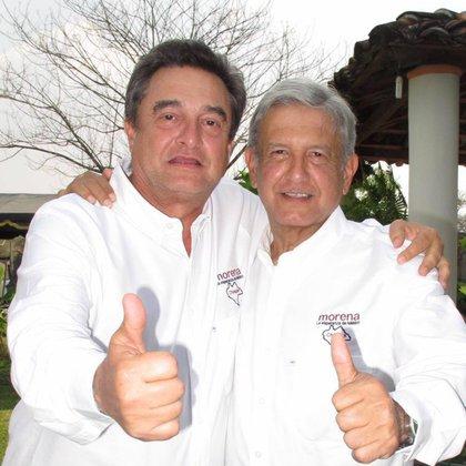 Pío López Obrador es uno de los fundadores de Morena, el partido que inició AMLO (Foto: Facebook @ Pío López Obrador)
