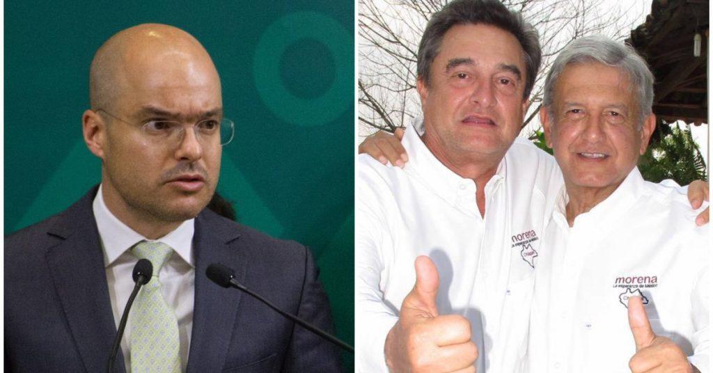 Carlos Loret reveló videos donde supuestamente el hermano de AMLO recibe dinero para la campaña 2018