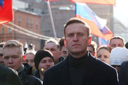 El líder de la oposición rusa Alexei Navalny.  Foto: REUTERS / Shamil Zhumatov